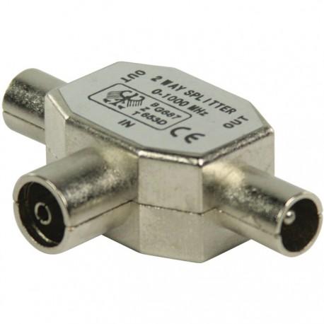 Valueline VLSP40950M Μεταλλικός διακλαδωτής RF