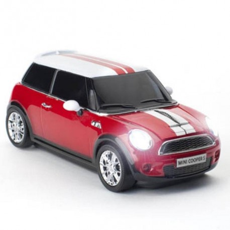 CLICK CAR MOUSE CCM660127 Chili red MINI COOPER S ασύρματο ποντίκη