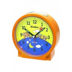 RHYTHM CRE224ΝΡ ORANGE παιδικό επιτραπέζιο ρολόι ξυπνητήρι