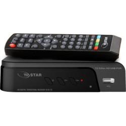 TV STAR T2 525m HD Επίγειος ψηφιακός δέκτης Mpeg-4 υψηλής ευκρίνειας FHD