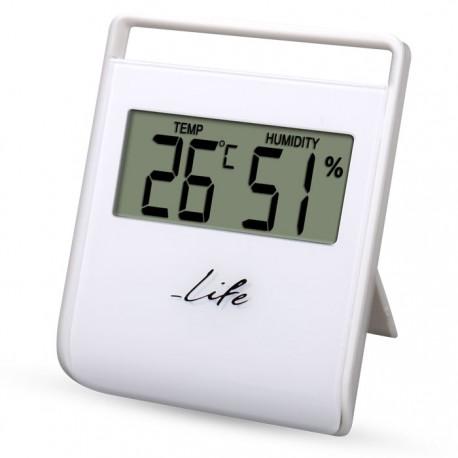 LIFE WES102 Ψηφιακό θερμόμετρο - υγρόμετρο εσωτερικού χώρου