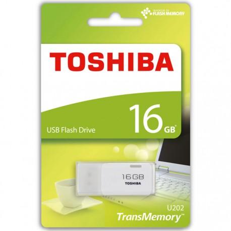 TOSHIBA USB STICK 16GB U202 HAYABUSA WHITE