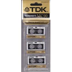 TDK MC90 3x90min με μικροκασετες D-MC90U3AE
