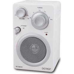 Denver TR-41C White FM radio
