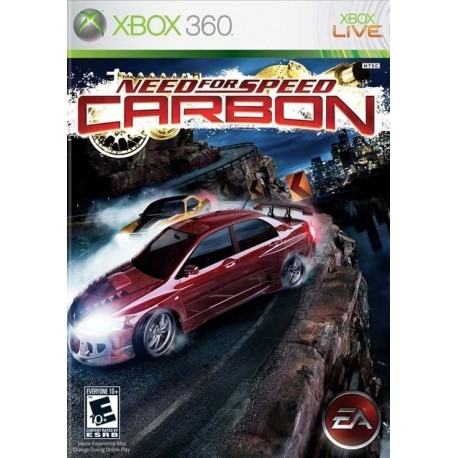 NEED FOR SPEED CARBON - XBOX360 GAMES