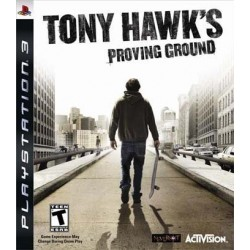 Tony Hawks Proving Ground - PLAYSTATION 3 GAMES