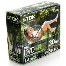 TDK 14JCEC5 DVD-R Δίσκος - 5 pack