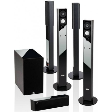 Crystal Audio BPT5.8-BLA PLASMA Σετ Ηχείων Home Cinema