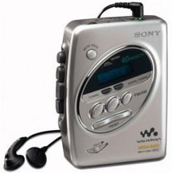 Sony Walkman WM-FX288 Silver Cassette