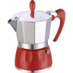 GAT 100003 RED DELIZIA 3 Μπρίκια Espresso 3 ΦΛΙΤΖΑΝΙΑ