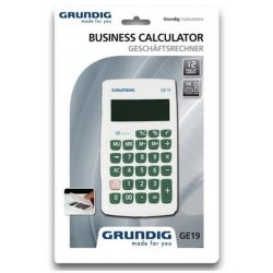 Grundig 86821 Αριθμομηχανή GE19 ΛΕΥΚΟ