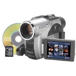 Hitachi DZ-MV730A DVD Camcorder w/16x Optical Zoom