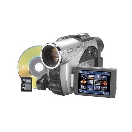 Hitachi DZ-MV730A DVD Camcorder w/16x Optical Zoom