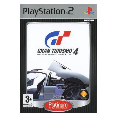 Gran Turismo 4 - Platinum PlayStation 2