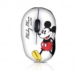 DISNEY MM202 Mini ενσύρματο οπτικό ποντίκι με μοτίβο MICKEY RETRO