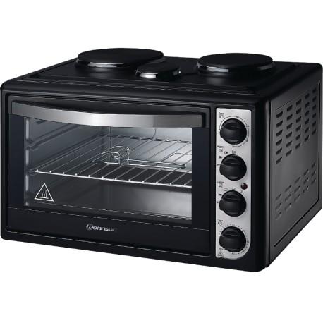 ROHNSON R2148B Ηλεκτρικός φούρνος με 3 εστίες