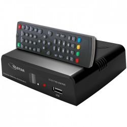 TV STAR T2 517 HD Επίγειος ψηφιακός δέκτης Mpeg-4 υψηλής ευκρίνειας
