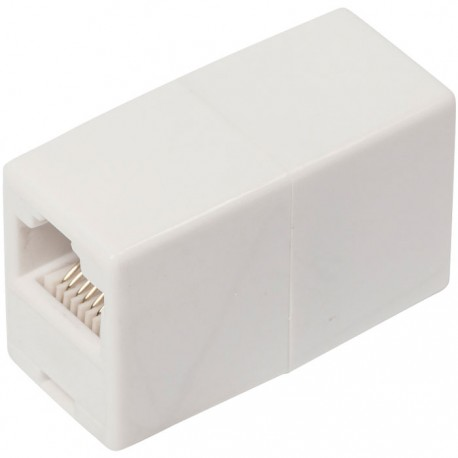 Valueline VLCP89005W Μούφα για RJ45 8x8 θηλ. - θηλ.