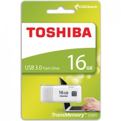 TOSHIBA USB STICK 16GB U301 HAYABUSA WHITE USB 3.0