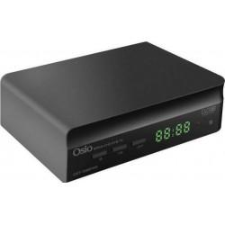 Osio OST-7085FHD DVB/T2 Ψηφιακός Δέκτης Με τηλεχειριστήριο 2 σε 1