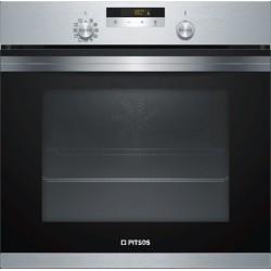 PITSOS PH27M60X0 Inox Εντοιχιζόμενος φούρνος