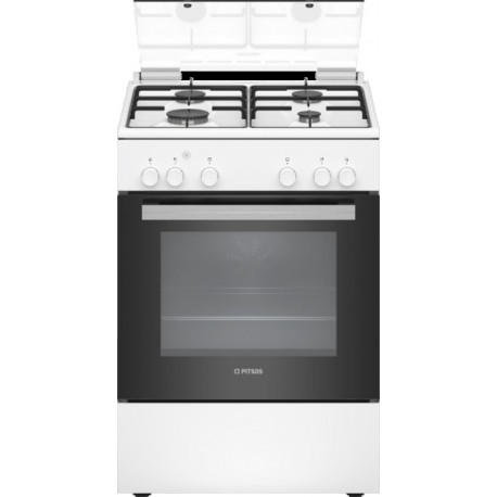 PITSOS PAC003D20 Ελεύθερη κουζίνα Αερίου Λευκό