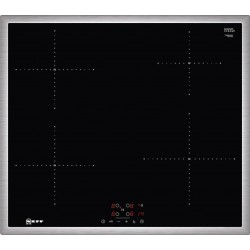 Neff T36BB40N1 Inox Αυτόνομη επαγωγική εστία με TouchControl