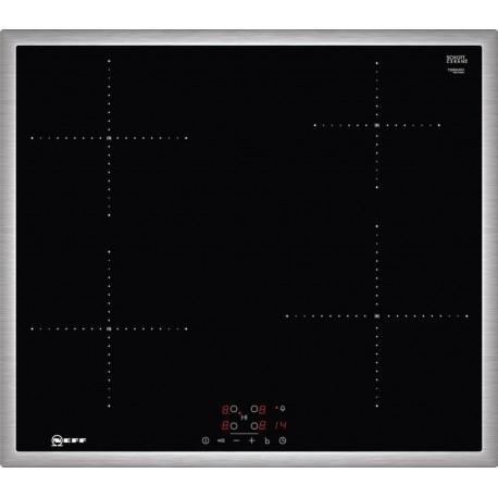 Neff T36BB40N1 Inox Αυτόνομη επαγωγική εστία με TouchControl.