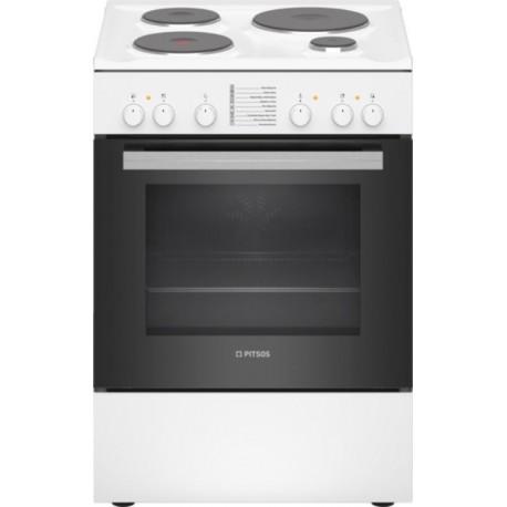 PITSOS PHA009020 Λευκό Ελεύθερη εμαγιέ κουζίνα