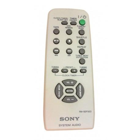SONY RM-SEP303 Original remote control