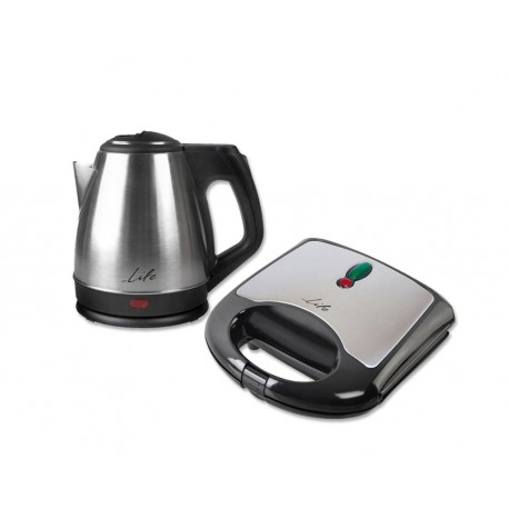 Life Πακέτο Μικροσυσκευών (WK003 Βραστήρας + STG001 Τοστιέρα)