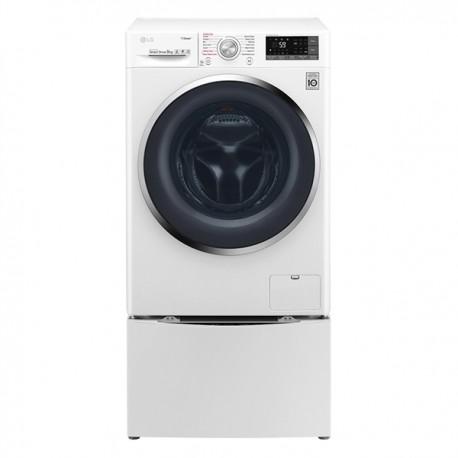 LG Twin Wash F4J7VY2WD + F8K5XN3 MiniWash Πλυντήριο Ρούχων 9kg+2kg