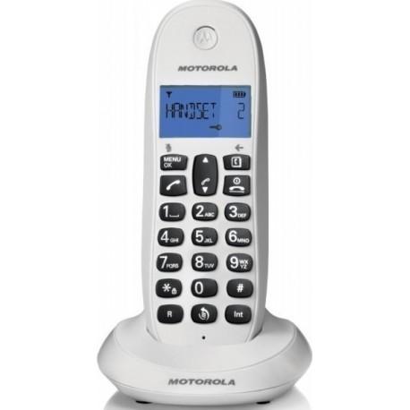 MOTOROLA C1001LB White ασύρματο τηλέφωνο