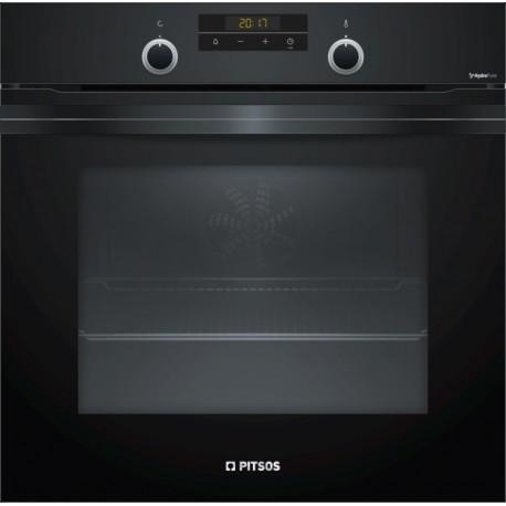 PITSOS PH33M42B0 Μαύρο Εντοιχιζόμενος φούρνος