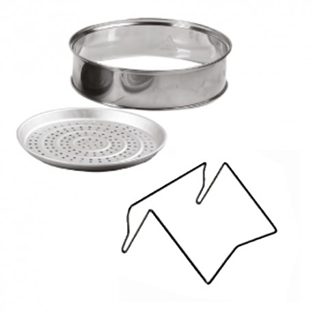 Rohnson R2091 ORIGINAL SET ανταλακτικά δακτυλίος επέκτασης - Βάση στήριξης καπακιού και δίσκος για μαγείρεμα στον ατμό