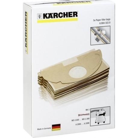 KARCHER 6.904-322.0 Σακούλες (5 Τεμ.)