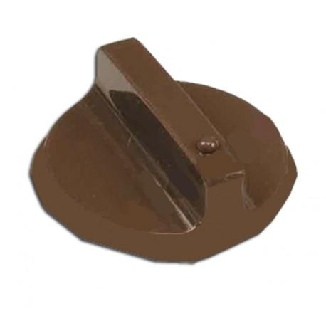 FANCY ORIGINAL ανταλλακτικό καφέ κουμπί χειριστηρίου για φουρνους και μικρές κουζίνες