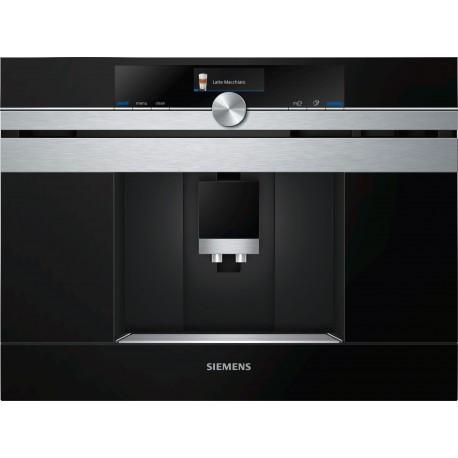 SIEMENS CT636LES6 iQ700 Εντοιχιζόμενη πλήρως αυτόματη καφετιέρα espresso Stainless steel