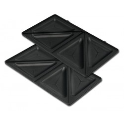 ROHNSON R2600 ORIGINAL Ανταλλακτικές αποσπώμενες αντικολλητικές πλάκες για τρίγωνα τοστ