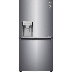 LG GML844PZKZ Platinum Silver Ψυγείο Ντουλάπα