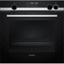 SIEMENS HR538ABS1 Εντοιχιζόμενος φούρνος με λειτουργεία επιπρόσθετου ατμού Ανοξείδωτο