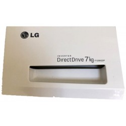 LG F1256QDP ORIGILNAL ανταλακτικό Μπροστά καπάκι δοχείου σκόνης για το πλυντήριο ρούχων