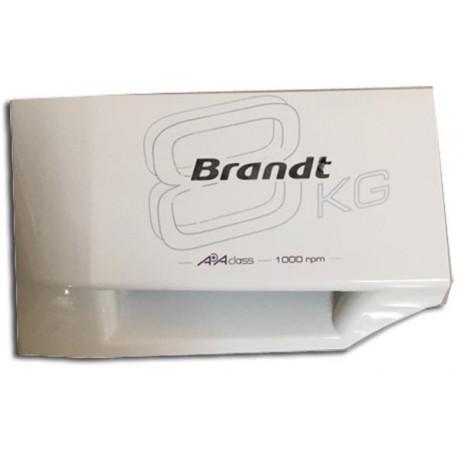 BRANDT WFK1018E ORIGILNAL ανταλακτικό Μπροστά καπάκι δοχείου σκόνης για το πλυντήριο ρούχων