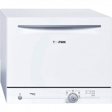 Pitsos POWERJET7 Επιτραπέζιο πλυντήριο πιάτων 55cm Λευκό