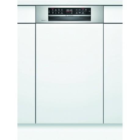 BOSCH SPI6EMS23E Εντοιχιζόμενο πλυντήριο πιάτων με εμφανή μετόπη 45cm ανοξείδωτο ατσάλι