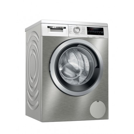 BOSCH WUU28TX9GR Πλυντήριο ρούχων εμπρόσθιας φόρτωσης 9kg silver-inox-stainless steel