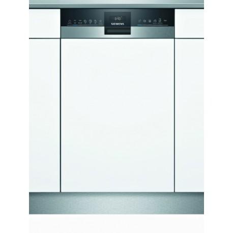 SIEMENS SR55ZS11ME Εντοιχιζόμενο πλυντήριο πιάτων με εμφανή μετόπη 45cm ανοξείδωτο ατσάλι