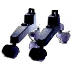 INVENTOR G21NV-20A BLACK ORIGINAL ανταλλακτικές SET Ρόδες Θερμοπομπού