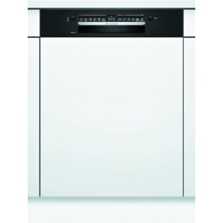 BOSCH SMI4HTB31E Εντοιχιζόμενο πλυντήριο πιάτων με εμφανή μετόπη 60cm Μαύρο