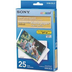 Sony SVM-25LS 1 κασέτα μελάνι και 25 φύλλα φωτογραφικό χαρτί εκτυπωτή